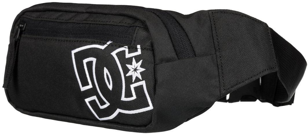 Сумка на пояс мужская DC Shoes Farce, цвет: черный, 1,5 л. EDYBA03019-KVJ0EDYBA03019-KVJ0