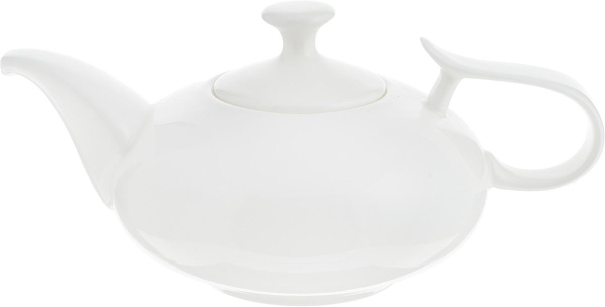 Чайник заварочный Wilmax, 450 мл. WL-994001 / 1CWL-994001 / 1CЗаварочный чайник Wilmax изготовлен из высококачественного фарфора. Глазурованное покрытие обеспечивает легкую очистку. Изделие прекрасно подходит для заваривания вкусного и ароматного чая, а также травяных настоев. Оригинальный дизайн сделает чайник настоящим украшением стола. Он удобен в использовании и понравится каждому. Можно мыть в посудомоечной машине и использовать в микроволновой печи. Диаметр чайника (по верхнему краю): 5,7 см. Высота чайника (без учета крышки): 6,5 см.