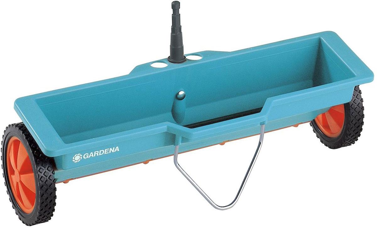 Разбрасыватель-сеялка Gardena, 3 л00420-20.000.00Для внесения удобрений, встроенный механизм обеспечивает равномерный, дозированный разброс. Емкость 3 литра