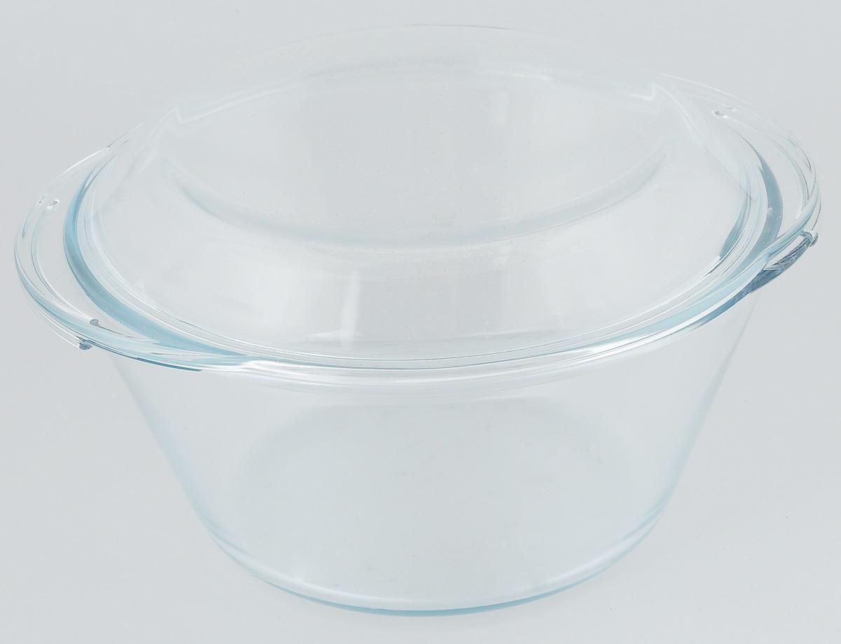 Кастрюля VGP Premium Quality с крышкой, 2,5 л1198Кастрюля VGP Premium Quality выполнена из жаропрочного стекла и оснащена крышкой. Предназначена для приготовления, хранения, разогрева пищи, а также для сервировки стола. Благодаря низкой теплопроводности, приготовленные блюда долго не остывают, при этом посуда обладает отличными гигиеническими качествами. Пригодна для использования в духовом шкафу, микроволновой печи, холодильной и морозильной камерах. Можно мыть в посудомоечной машине. Диаметр кастрюли (по верхнему краю): 22 см. Высота стенки: 10,5 см. Ширина (с учетом ручек): 24,5 см.