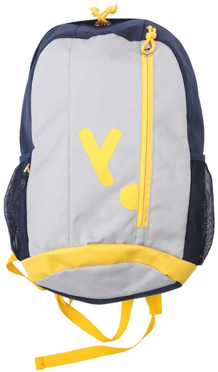 Сумка для мальчика PlayToday, цвет: черный, серый , желтый. 171751. Размер один размер171751Удобный рюкзак в стиле милитари с забавным принтом. Внутри дополнительный вкладной мешок, в который можно класть обувь.