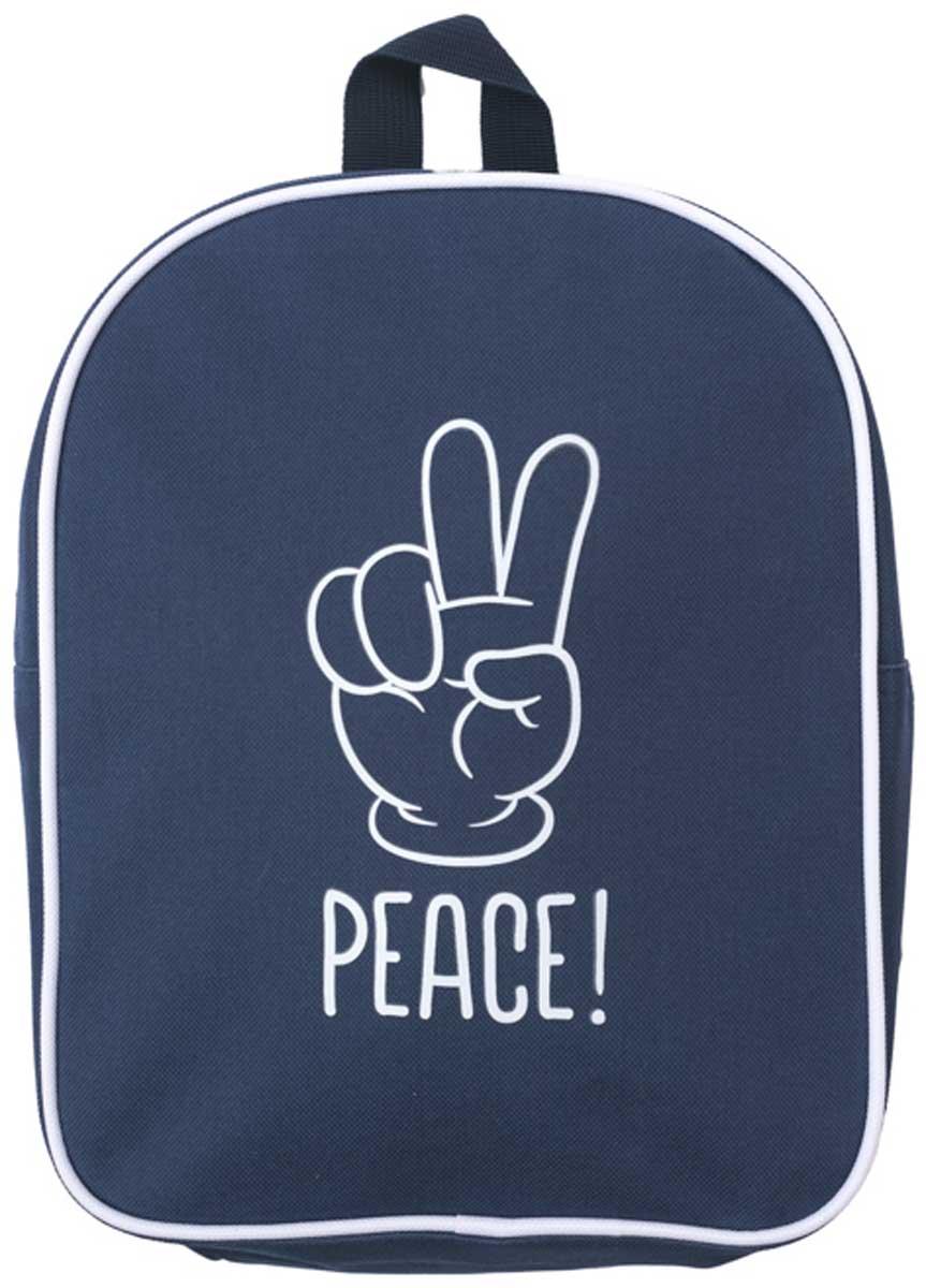 Сумка для мальчика PlayToday, цвет: синий. 171753. Размер один размер171753Удобный рюкзак в стиле милитари с забавным принтом. Внутри дополнительный вкладной мешок, в который можно класть обувь.