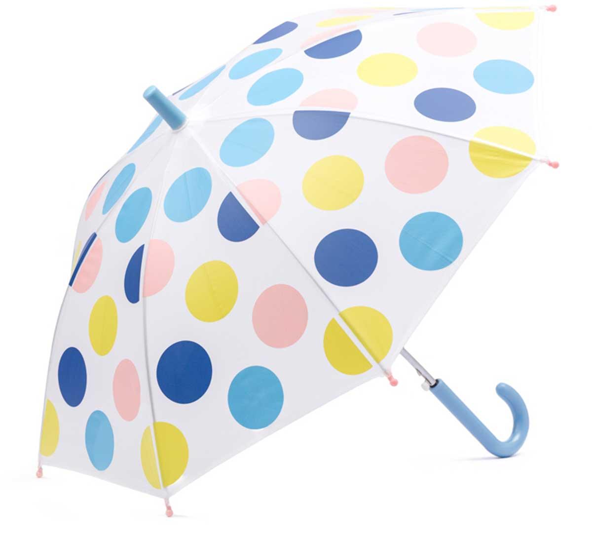 Зонт для девочки PlayToday, цвет: белый, синий, голубой, розовый, салатовый. 178702. Размер 41.5178702Этот зонтик обязательно понравится Вашему ребенку! Оснащен специальной безопасной системой открывания и закрывания. Материал каркаса ветроустойчивый. Концы спиц снабжены пластмассовыми наконечниками для защиты от травм. Такой зонт идеально подойдет для прогулок в дождливую погоду.Преимущества:Оснащен специальной безопасной системой открывания и закрыванияКонцы спиц снабжены пластмассовыми наконечниками для защиты от травм