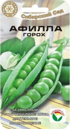 Семена Сибирский сад Горох. АфиллаBP-00000189Растет без опоры, без листвы, пролонгированное плодоношение. Причудливый сорт познеспелого лущильного гороха, отличающийсмя полным отсутствием листьев. Растение высотой 50-55см, Бобы темно-зеленого цвета, крупные. Каждый стручок содержит 6-9 сладких горошин.