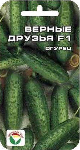 """Семена Сибирский сад """"Огурец. Верные друзья"""", 7 шт BP-00000283"""