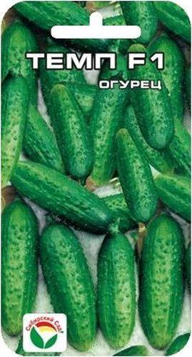 Семена Сибирский сад Огурец. Темп, 5 штBP-00000321Гибрид раннеспелый. От всходов до начала плодоношения 42-44 дня. Предназначен для производства пикулей (длина зеленца 3-5 см). Плод генетически без горечи, длиной 5-7 см, диаметром 1,6-2 см, массой 70-80 г. Гибрид характеризуется пучковым плодоношением, в одном узле формируется 3-5 плодов. Зеленцы цилиндрические бугорчатые, белошилые. с продольными полосами, не перерастают. Вкусовые качества отличные. Замечательно подходит для засола и консервирования. Транспортабельность хорошая. Гибрид устойчив к кладоспориозу и мучнистой росе, относительно к ВОМ-1 и пероноспорозу. Общая урожайность 11-15 кг с 1 м2, при сборе пикулей - 5-7 кг с 1 м2. Для ускорения процесса всхожести семян, оздоровления растений, улучшения завязываемости плодов рекомендуется пользоваться специально разработанными стимуляторами роста и развития растений.
