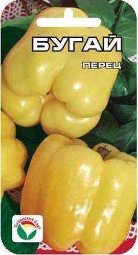 Семена Сибирский сад Перец. Бугай, 10 штBP-00000331Новый крупный раннеспелый сорт. Плоды впечатляют гигантскими размерами и радуют глаз благородством цвета и формы. Куст крепкий, высотой 50-60 см. Плоды кубовидной формы, толстостенные (до 10 мм), массой до 500 г, светящейся мягко- желтой окраски с жемчужным отливом, нежно-пряного вкуса, долго сохраняют внешний вид и блеск. Сорт универсального назначения. Пригоден для выращивания в теплицах и в открытом грунте. Посев на рассаду производят за 60-70 дней до высадки растений на постоянное место. Оптимальная постоянная температура прорастания семян 26-28°С. При высадке в грунт на 1 м2 размещают до 5-6 растений. Сорт хорошо реагирует на полив и подкормки комплексными минеральными удобрениями. Для ускорения процесса всхожести семян, оздоровления растений, улучшения завязываемости плодов рекомендуется использовать специально разработанные стимуляторы роста и развития растений.