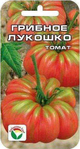 Семена Сибирский сад Томат. Грибное лукошкоBP-00000487Детерминантный куст, высотой до 90см, масса плодов 250гр-350гр. Плоды очень интересные плоские, с ярко-выраженной ребристостью, создающей впечатление, будто томат состоит из отдельных долек.