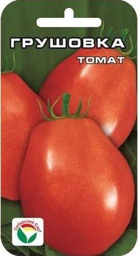 Семена Сибирский сад Томат. Грушовка, 20 штBP-00000489Среднеспелый, низкорослый (50-70 см), штамбовый детерминантный сорт сибирской селекции. Плоды удлиненно-овальные, массой 90-120 г (первые до 180 г). Используются в свежем виде, для цельно-плодного консервирования, длительного хранения. Сорт выращивается в 2-3 стебля без пасынкования в открытом грунте и пленочных укрытиях. Достоинства сорта: оригинальная малиновая окраска, красивая удлиненно- овальная форма, лежкость и прекрасные засолочные качества, а также нетребовательность к пасынкованию. Для ускорения процесса всхожести семян, оздоровления растений, улучшения завязываемости плодов рекомендуется пользоваться специально разработанными стимуляторами роста и развития растений.