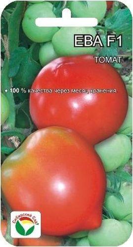 Семена Сибирский сад Томат. Ева, 15 штBP-00000511Очень урожайный гибрид для получения ранней продукции высокого качества в открытом и защищенном грунте. Период от всходов до созревания всего 95-100 дней. Растение среднеоблиственное, невысокое, около 1 м. Первая кисть закладывается над 5-6 листом, последующие через 1-2 листа. В каждой кисти по 5-6 довольно крупных ярко-красных плодов массой до 180 г. Томаты привлекательны по форме - округлые с носиком, кроме того очень плотные и транспортабельные. Сохранность плодов после месяца хранения в нерегулируемых условиях составляет 96-100%. Выход стандартных плодов 99%, урожайность за первых два сбора- 5,5 кг/м2, на конец учетов 19 кг/м2, хорошо отрастает. Гибрид устойчив к альтернаирозу и вирусу табачной мозаики. Потенциальная урожайность 22-23 кг/м2. Посев на рассаду производят за 50-60 дней до высадки растений на постоянное место. При высадке в грунт на 1 м2 размещают 3 растения. Гибрид отзывчив на внесение удобрений и технологию возделывания. Выращивается в...