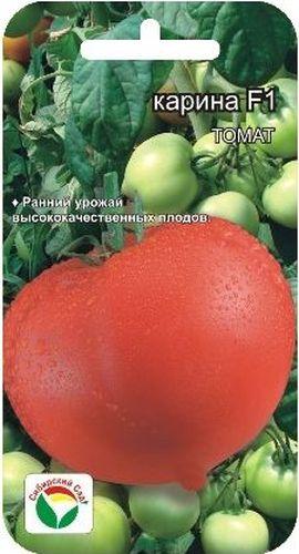 Семена Сибирский сад Томат. Карина, 15 штBP-00000535Ранний высокоурожайный гибрид индетерминантного типа для выращивания в защищенном грунте. Период от всходов до созревания 95-100 дней. Растение среднеоблиственное, высотой 190 -210 см. Первая кисть закладывается над 6-7 листом, последующие через 1-2 листа. В кисти формируется до 6 плодов массой 140-170 г каждый. Томаты округлые, с носиком, ярко- красного цвета. Мякоть плотная, но не жесткая, хорошего вкуса, который определяется сбалансированным содержанием сахаров и кислот. Плоды обладают высокой транспортабельностью, подходят для любых видов переработки. Посев на рассаду производят за 50-60 дней до высадки растений на постоянное место. При высадке в грунт на 1 м2 размещают 3 растения. Гибрид отзывчив на внесение удобрений и технологию возделывания. Выращивается в 1-2 стебля с подвязкой и пасынкованием. Для ускорения процесса всхожести семян, оздоровления растений, улучшения завязываемости плодов рекомендуется пользоваться специально разработанными...