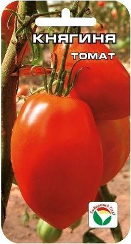 Семена Сибирский сад Томат. Княгиня, 20 штBP-00000543Великолепный среднеранний индетерминантный сорт для теплиц и временных укрытий. Завязывает до 9 кистей с 4-9 красными ровными, удлиненными плодами приятного сладкого вкуса, массой 350-400 г. Плоды плотные, мясистые, с высокой насыщенностью мякоти, прекрасно подходят для засолки, консервирования и употребления в свежем виде. Высокая урожайность и товарность плодов являются неоспоримыми достоинствами сорта! Посев на рассаду производят за 50-60 дней до высадки растений на постоянное место. Оптимальная постоянная температура прорастания семян 23-25°С. При высадке в грунт на 1 м2 размещают 3 растения. Сорт хорошо реагирует на полив и подкормки комплексными минеральными удобрениями. Требует пасынкования и подвязки. Для ускорения процесса всхожести семян, оздоровления растений, улучшения завязываемости плодов рекомендуется пользоваться специально разработанными стимуляторами роста и развития растений.