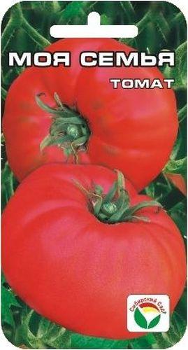 Семена Сибирский сад Томат. Моя семья, 20 штBP-00000585Новый томат сибирской селекции с крупными, потрясающе вкусными плодами, обладающими сахаристой мякотью, с очень малым количеством семян и великолепным ароматом. Среднеспелый сорт для открытого грунта и пленочных укрытий. Растение детерминантного типа, высотой 70-80 см. Плоды плоско- округлой формы, слаборебристые, весом около 400 г (первые достигают веса 600 г), малиново-розового цвета. Требует умеренного пасынкования, устойчив к основным заболеваниям томатов. Ценность сорта: высокая урожайность, прекрасные вкусовые и товарные качества. Пригоден для употребления в свежем виде, домашней кулинарии и рыночных продаж. При высадке в грунт на 1 м2 размещают 3-4 растения. Для получения наиболее крупных плодов требуется своевременное пасынкование.