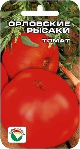 Семена Сибирский сад Томат. Орловские рысаки, 20 штBP-00000600Среднеранний крупноплодный детерминантный сорт для открытого грунта и пленочных теплиц. Растение высотой 0,7-1 м в зависимости от условий выращивания. Плоды огненно-красные, мясистые, массой 300-500 г. Томаты плоско-округлой формы, выровненные, очень ровные и гладкие, на растениях практически не встречается уродливых плодов. Плоды вкусные, годятся для любого вида переработки. Посев на рассаду производят за 50-60 дней до высадки на постоянное место. Оптимальная постоянная температура прорастания семян 20-25°С. При высадке в грунт на 1 м2 размещают 3-4 растения. Выращивают в 2-3 стебля с подвязкой к опоре. Сорт хорошо реагирует на полив и подкормки комплексными минеральными удобрениями. Для ускорения процесса всхожести семян, оздоровления растений, улучшения завязываемости плодов рекомендуется пользоваться специально разработанными стимуляторами роста и развития растений.
