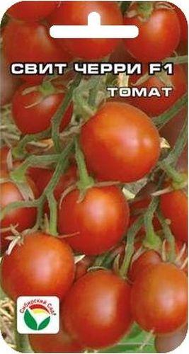 Семена Сибирский сад Томат. Свит черри, 15 штBP-00000646Ультраскороспелый высокоурожайный для теплиц и парников. Со дня высадки рассады до плодоношения всего 75-85 дней. Это сильнорослое (до 2 м) растение вполне можно назвать конфетным деревом. Томаты массой 20-30 г украсят любые блюда, прекрасно подходят для консервирования. Гибрид отличается дружной отдачей урожая (до 40% за первую декаду плодоношения), обладает комплексной устойчивостью к болезням. Посев на рассаду производят в середине марта за 50-60 дней до высадки растений на постоянное место. При высадке в грунт на 1 м2 размещают 3 растения. Сорт хорошо реагирует на полив и подкормки комплексными минеральными удобрениями. Высокорослые томаты обязательно подвязывают к горизонтальным либо вертикальным шпалерам. Выращивают в 1-2 стебля. Для ускорения процесса всхожести семян, оздоровления растений, улучшения завязываемости плодов рекомендуется использовать специально разработанные стимуляторы роста и развития растений.