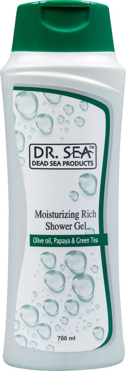Dr.Sea Увлажняющий гель для душа-масло оливы, папайя и зеленый чай, 700 мл235Крем-гель Dr. Sea обладает ароматерапевтическим эффектом и нейтрализует вредное воздействие жесткой воды. Благодаря действию оливкового масла и масла папайи кожа после купания становится мягкой, упругой и бархатистой. Целебные свойства минералов Мертвого моря и экстракта зеленого чая успокаивают кожу, выравнивают рельеф, а также замедляют процесс старения и улучшают обмен веществ. Крем-гель придает вашей коже волшебный аромат, чудесное ощущение свежести и обновления. Возможно использование в качестве пенящегося средства для ванны. Подходит для всей семьи. Основу косметики Dr. Sea составляют минералы, грязи и органические вытяжки Мертвого моря, а также натуральные растительные экстракты. Косметические средства Dr. Sea разрабатываются и производятся исключительно на территории Израиля в новейших технологических условиях, позволяющих максимально раскрыть и сохранить целебные свойства природных компонентов. Ни в одном из препаратов не содержится парааминобензойная...