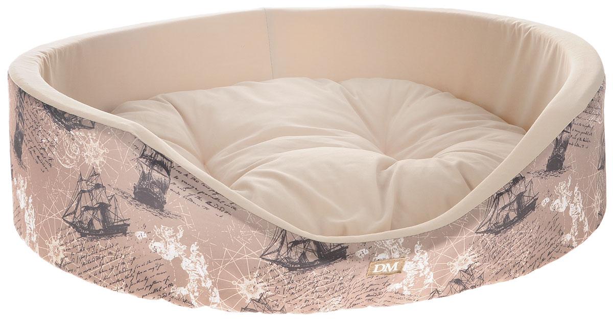 Лежак для животных Dogmoda Парус, 57 х 44 х 15 смDM-150301-3Лежак для животных Dogmoda Парус прекрасно подойдет для отдыха вашего домашнего питомца. Предназначен для кошек и собак мелких и средних пород. Изделие выполнено из хлопка и полиэстера с принтом на морскую тематику. Внутри - мягкий наполнитель из холлофайбера и поролона, который обеспечивает комфорт и уют. Лежак снабжен съемной подушкой. Комфортный и уютный лежак обязательно понравится вашему питомцу, животное сможет там отдохнуть и выспаться.