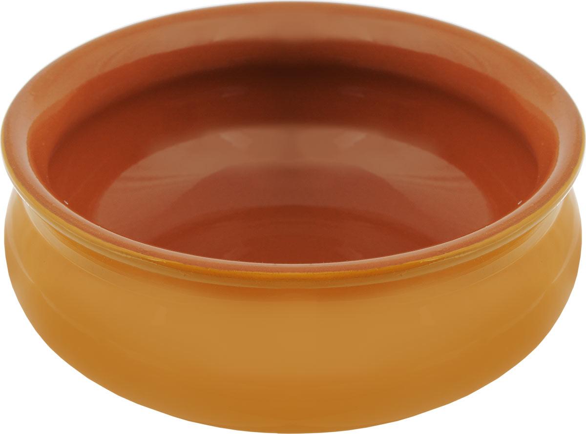 Тарелка глубокая Борисовская керамика Скифская, цвет: желтый, коричневый, 500 млРАД14458194 _желтый, коричневыйГлубокая тарелка Борисовская керамика Скифская выполнена из керамики. Изделие сочетает в себе изысканный дизайн с максимальной функциональностью. Она прекрасно впишется в интерьер вашей кухни и станет достойным дополнением к кухонному инвентарю. Такая тарелка подчеркнет прекрасный вкус хозяйки и станет отличным подарком. Можно использовать в духовке и микроволновой печи. Диаметр тарелки (по верхнему краю): 14 см. Высота стенки: 6 см. Объем: 500 мл.