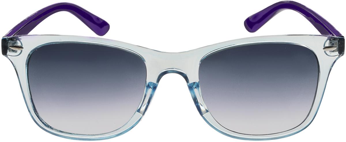 Очки солнцезащитные женские Vittorio Richi, цвет: голубой, фиолетовый. ОС5019с80-34-13/17fОС5019с80-34-13/17fСолнцезащитные очки Vittorio Richi выполнены из высококачественного пластика. Пластик используемый при изготовлении линз не искажает изображение, не подвержен нагреванию и вредному воздействию солнечных лучей. Оправа очков легкая, прилегающей формы и поэтому обеспечивает максимальный комфорт. Такие очки защитят глаза от ультрафиолетовых лучей, подчеркнут вашу индивидуальность и сделают ваш образ завершенным.