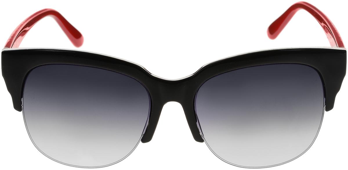 Очки солнцезащитные женские Vittorio Richi, цвет: черный, красный. ОС5005с80-10-2/17fОС5005с80-10-2/17fСолнцезащитные очки Vittorio Richi выполнены из высококачественного пластика. Пластик используемый при изготовлении линз не искажает изображение, не подвержен нагреванию и вредному воздействию солнечных лучей. Оправа очков легкая, прилегающей формы и поэтому обеспечивает максимальный комфорт. Такие очки защитят глаза от ультрафиолетовых лучей, подчеркнут вашу индивидуальность и сделают ваш образ завершенным.
