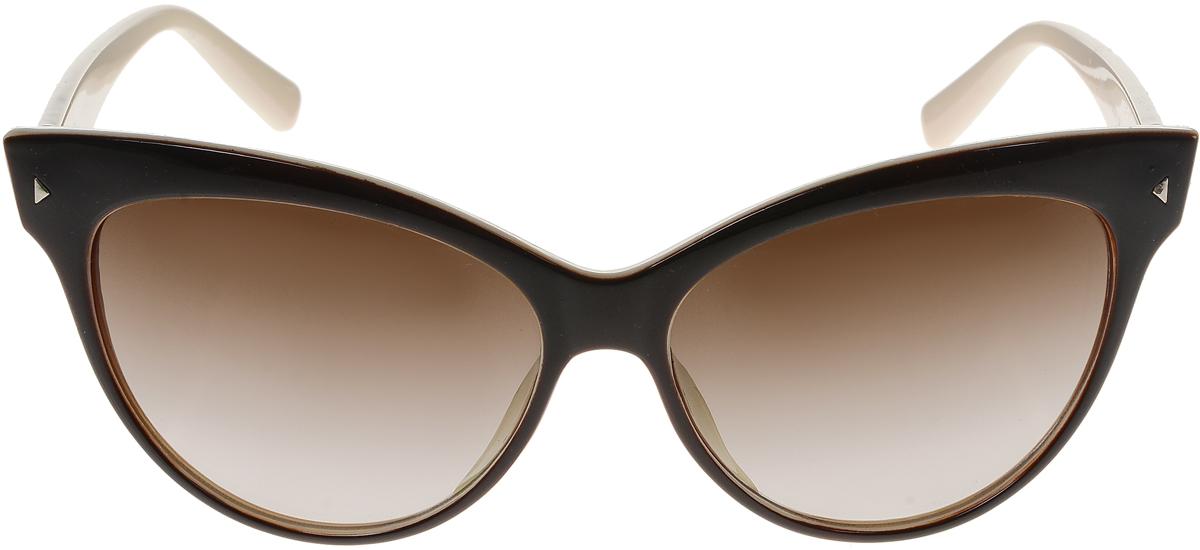 Очки солнцезащитные женские Vittorio Richi, цвет: коричневый, слоновая кость. ОС5008с82-12-9/17fОС5008с82-12-9/17fСолнцезащитные очки Vittorio Richi выполнены из высококачественного пластика. Пластик используемый при изготовлении линз не искажает изображение, не подвержен нагреванию и вредному воздействию солнечных лучей. Оправа очков легкая, прилегающей формы и поэтому обеспечивает максимальный комфорт. Такие очки защитят глаза от ультрафиолетовых лучей, подчеркнут вашу индивидуальность и сделают ваш образ завершенным.