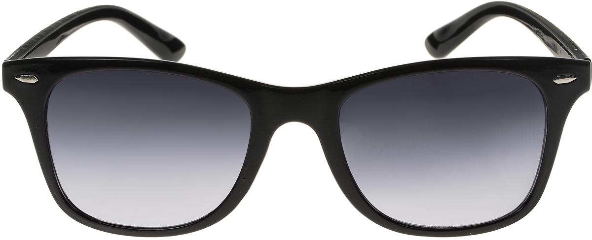 Очки солнцезащитные женские Vittorio Richi, цвет: черный. ОС5019с80-10/17fОС5019с80-10/17fСолнцезащитные очки Vittorio Richi выполнены из высококачественного пластика. Пластик используемый при изготовлении линз не искажает изображение, не подвержен нагреванию и вредному воздействию солнечных лучей. Оправа очков легкая, прилегающей формы и поэтому обеспечивает максимальный комфорт. Такие очки защитят глаза от ультрафиолетовых лучей, подчеркнут вашу индивидуальность и сделают ваш образ завершенным.