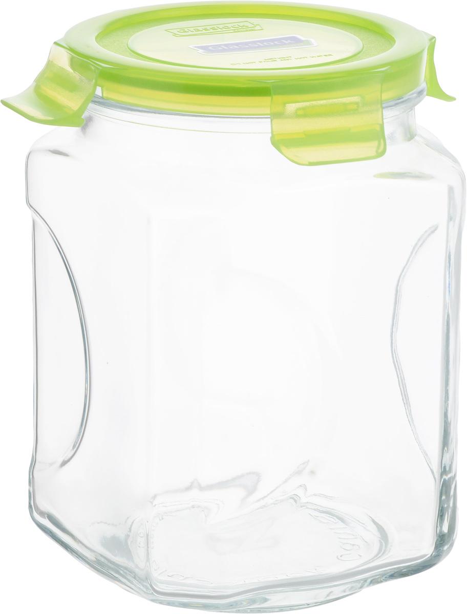 Банка для сыпучих продуктов Glasslock, 2 лIP 592 2.0 LБанка Glasslock, выполненная из стекла, отлично подойдет для хранения сыпучих продуктов. Крышка из полипропилена с силиконовым вкладышем плотно закрывается с помощью зажимов, дольше сохраняя свежесть продуктов. Изделие устойчиво к внешним воздействиям, не пропускает влагу, пыль и запахи. Такая банка стильно дополнит интерьер и поможет дольше хранить продукты. Диаметр банки (по верхнему краю): 10,5 см. Высота банки (без учета крышки): 18 см.