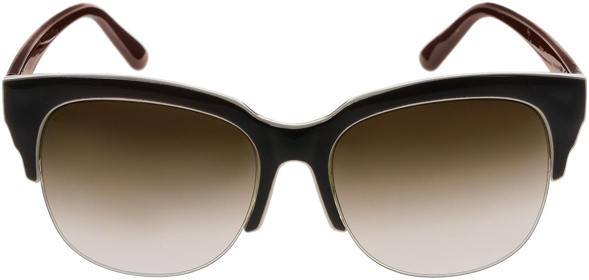 Очки солнцезащитные женские Vittorio Richi, цвет: темно-коричневый, слоновая кость. ОС5005с82-12-9/17fОС5005с82-12-9/17fСолнцезащитные очки Vittorio Richi выполнены из высококачественного пластика. Пластик используемый при изготовлении линз не искажает изображение, не подвержен нагреванию и вредному воздействию солнечных лучей. Оправа очков легкая, прилегающей формы и поэтому обеспечивает максимальный комфорт. Такие очки защитят глаза от ультрафиолетовых лучей, подчеркнут вашу индивидуальность и сделают ваш образ завершенным.