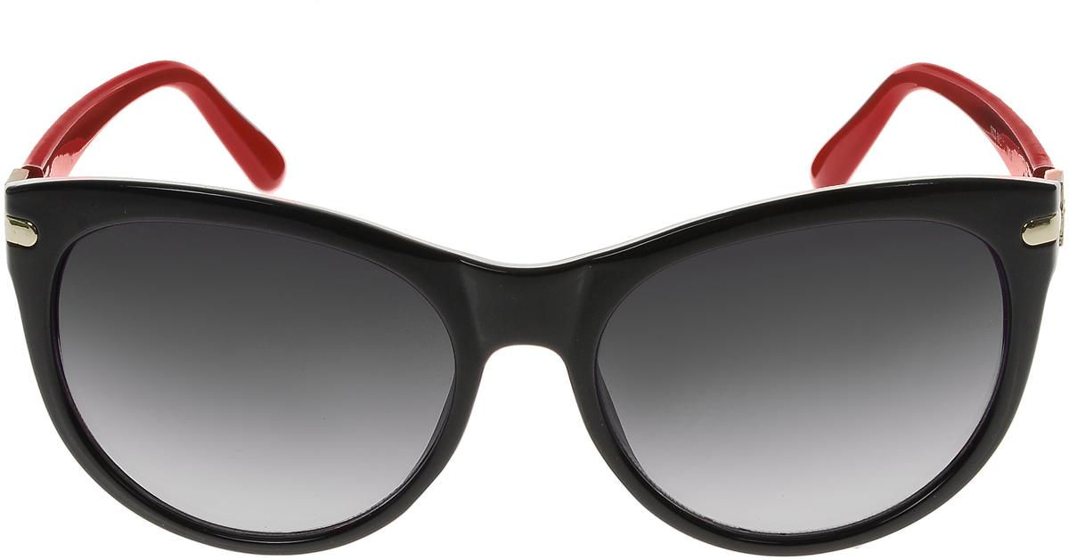 Очки солнцезащитные женские Vittorio Richi, цвет: черный, красный. OC1922с5/17f