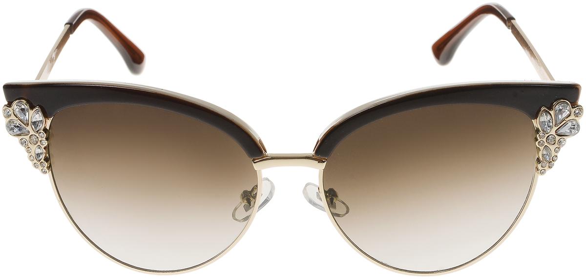 Очки солнцезащитные женские Vittorio Richi, цвет: коричневый. OC1899c7/17f