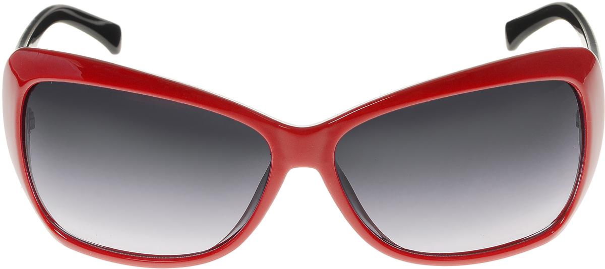 Очки солнцезащитные женские Vittorio Richi, цвет: красный, черный. ОС5012с80-28-4/17fОС5012с80-28-4/17fСолнцезащитные очки Vittorio Richi выполнены из высококачественного пластика. Пластик используемый при изготовлении линз не искажает изображение, не подвержен нагреванию и вредному воздействию солнечных лучей. Оправа очков легкая, прилегающей формы и поэтому обеспечивает максимальный комфорт. Такие очки защитят глаза от ультрафиолетовых лучей, подчеркнут вашу индивидуальность и сделают ваш образ завершенным.