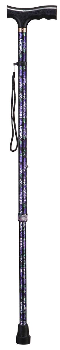 B.Well Трость WR-411 цветыWR-411WR-411 – это классическая опорная трость по доступной цене. Рукоятка трости имеет Т-образную форму, сделана из прочного нескользящего пластика. Корпус трости выполнен из авиационного алюминия, что обеспечивает и прочность, и легкость. Все трости B.Well являются телескопическими и регулируются по высоте. Кнопочный замок надежно зафиксирует трость на том уровне, который удобен и комфортен для Вас. Трехслойное покрытие корпуса трости обеспечит долговечность выбранного Вами рисунка.