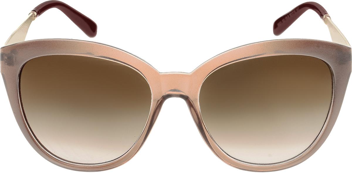 Очки солнцезащитные женские Vittorio Richi, цвет: коричневый. OC8021c82-19-9/17f