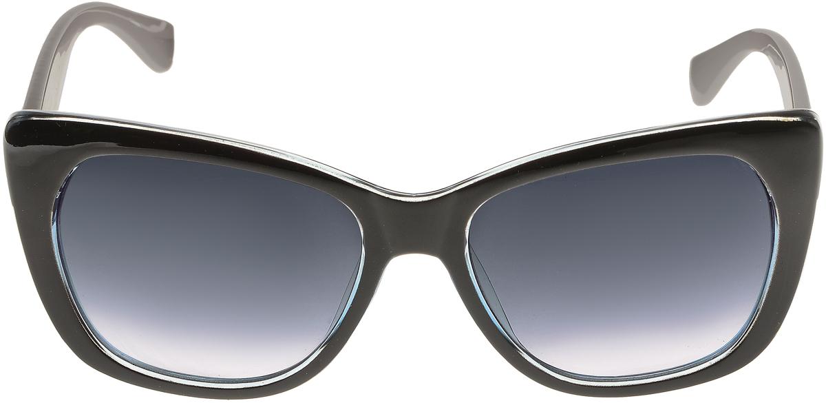 Очки солнцезащитные женские Vittorio Richi, цвет: черный, серый. ОС5092с80-47-15/17fОС5092с80-47-15/17fСолнцезащитные очки Vittorio Richi выполнены из высококачественного пластика. Пластик используемый при изготовлении линз не искажает изображение, не подвержен нагреванию и вредному воздействию солнечных лучей. Оправа очков легкая, прилегающей формы и поэтому обеспечивает максимальный комфорт. Такие очки защитят глаза от ультрафиолетовых лучей, подчеркнут вашу индивидуальность и сделают ваш образ завершенным.