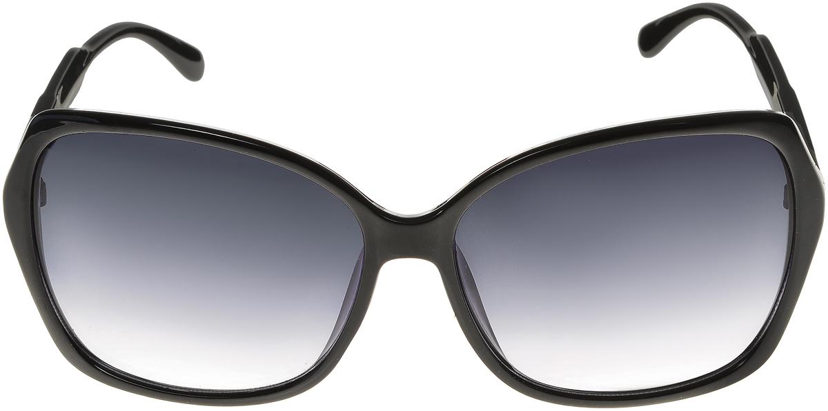 Очки солнцезащитные женские Vittorio Richi, цвет: черный. ОС5017с80-10/17fОС5017с80-10/17fЭлегантные солнцезащитные очки Vittorio Richi выполнены из высококачественного пластика. Пластик используемый при изготовлении линз не искажает изображение, не подвержен нагреванию и вредному воздействию солнечных лучей. Оправа очков легкая, прилегающей формы и поэтому обеспечивает максимальный комфорт. Такие очки защитят глаза от ультрафиолетовых лучей, подчеркнут вашу индивидуальность и сделают ваш образ завершенным.