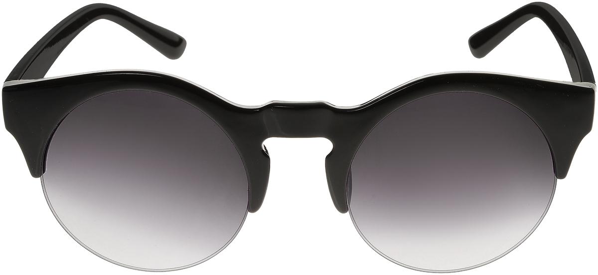 Очки солнцезащитные женские Vittorio Richi, цвет: черный. ОС4260с1/17fОС4260с1/17fСолнцезащитные очки Vittorio Richi выполнены из высококачественного пластика. Пластик используемый при изготовлении линз не искажает изображение, не подвержен нагреванию и вредному воздействию солнечных лучей. Оправа очков легкая, прилегающей формы и поэтому обеспечивает максимальный комфорт. Такие очки защитят глаза от ультрафиолетовых лучей, подчеркнут вашу индивидуальность и сделают ваш образ завершенным.