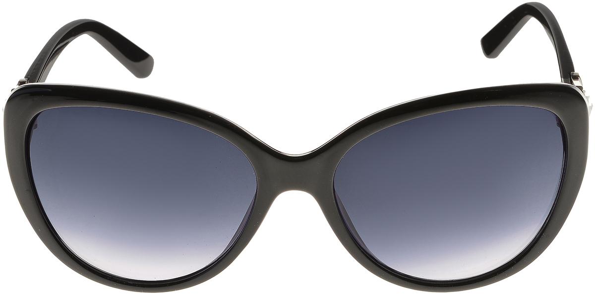 Очки солнцезащитные женские Vittorio Richi, цвет: черный. ОС2062с80-10/17f