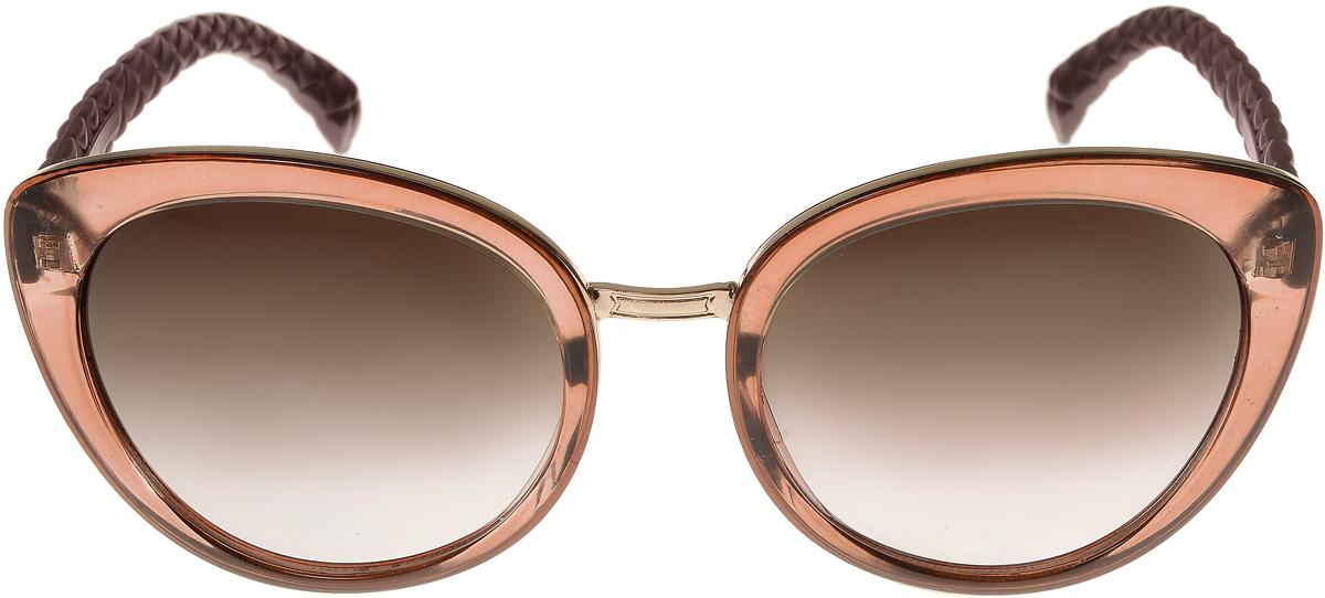 Очки солнцезащитные женские Vittorio Richi, цвет: коричневый, золотой. OC2071с82-23-9/17fOC2071с82-23-9/17fОчки солнцезащитные Vittorio Richi это знаменитое итальянское качество и традицыонно изысканный дизайн.