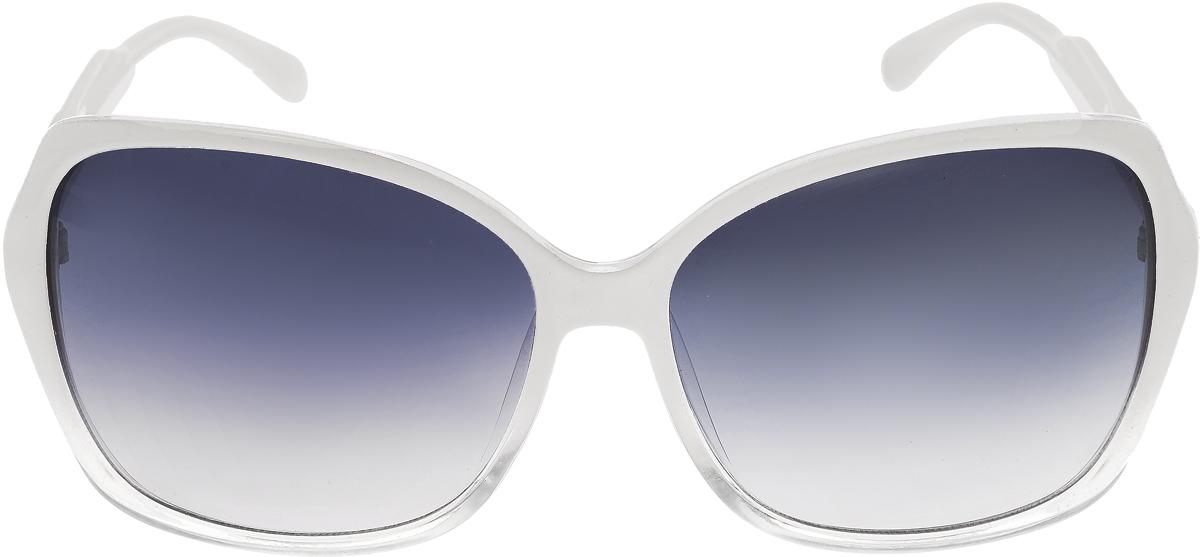 Очки солнцезащитные женские Vittorio Richi, цвет: белый. ОС5017с80-30/17fОС5017с80-30/17fЭлегантные солнцезащитные очки Vittorio Richi выполнены из высококачественного пластика. Пластик используемый при изготовлении линз не искажает изображение, не подвержен нагреванию и вредному воздействию солнечных лучей. Оправа очков легкая, прилегающей формы и поэтому обеспечивает максимальный комфорт. Такие очки защитят глаза от ультрафиолетовых лучей, подчеркнут вашу индивидуальность и сделают ваш образ завершенным.