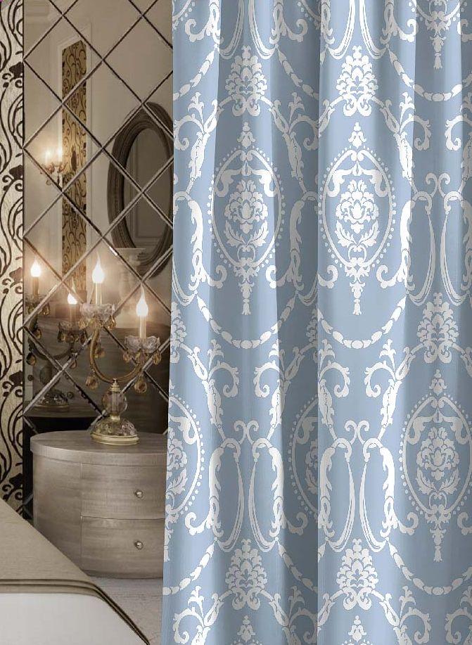 Штора Волшебная ночь Dainty, на ленте, высота 270 см705503Шторы коллекции Волшебная ночь - это готовое решение для Вашего интерьера, гарантирующее красоту, удобство и индивидуальный стиль! Штора изготовлена из приятной на ощупь ткани ГАБАРДИН, которая плотно драпирует окно, но позволяет свету частично проникать внутрь. Длина шторы регулируется с помощью клеевой паутинки (в комплекте). Изделие крепится на вшитую шторную ленту: на крючки или путем продевания на карниз. Дизайнеры Марки предлагают уже сформированные комплекты штор из различных тканей и рисунков для создания идеальной композиции на окне. Для удобства выбора дизайны штор распределены в стилевые коллекции: ЭТНО, ВЕРСАЛЬ, ЛОФТ, ПРОВАНС. В коллекции Волшебная ночь к данной шторе Вы также сможете подобрать шторы из других тканей: БЛЭКАУТ (100% затемнение), сатен (частичное затемнение) и ВУАЛЬ (практически нулевое затемнение), которые будут прекрасно сочетаться по дизайну и обеспечат особый уют Вашему дому.