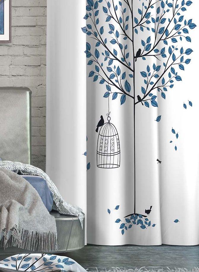 Штора Волшебная ночь Dove, на ленте, высота 270 см. 705535705535Шторы коллекции ВОЛШЕБНАЯ НОЧЬ - это готовое решение для Вашего интерьера, гарантирующее красоту, удобство и индивидуальный стиль! Штора изготовлена из мягкой, приятной на ощупь ткани сатен , которая обеспечивает частичное затемнение и легко драпируется. Длина шторы регулируется с помощью клеевой паутинки (в комплекте). Изделие крепится на вшитую шторную ленту: на крючки или путем продевания на карниз. Дизайнеры Марки предлагают уже сформированные комплекты штор из различных тканей и рисунков для создания идеальной композиции на окне. Для удобства выбора дизайны штор распределены в стилевые коллекции: ЭТНО, ВЕРСАЛЬ, ЛОФТ, ПРОВАНС. В коллекции Волшебная ночь к данной шторе Вы также сможете подобрать шторы из других тканей: БЛЭКАУТ (100% затемненение), ГАБАРДИН (частичное затемнение) и ВУАЛЬ (практически нулевое затемнение), которые будут прекрасно сочетаться по дизайну и обеспечат особый уют Вашему дому.