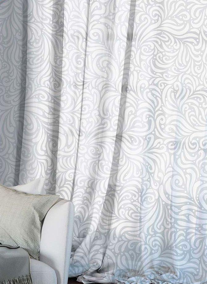 Комплект штор Волшебная ночь Chamomile, на ленте, высота 270 см, 2 шт704564Шторы коллекции Волшебная ночь - это готовое решение для Вашего интерьера, гарантирующее красоту, удобство и индивидуальный стиль! Шторы изготовлены из тонкой и легкой ткани ВУАЛЬ, которая почти не препятствует прохождению света, но защищает комнату от посторонних взглядов. Длина штор регулируется с помощью клеевой паутинки (в комплекте). Изделия крепятся на вшитую шторную ленту: на крючки или путем продевания на карниз. Дизайнеры Марки предлагают уже сформированные комплекты штор из различных тканей и рисунков для создания идеальной композиции на окне. Для удобства выбора дизайны штор распределены в стилевые коллекции: ЭТНО, ВЕРСАЛЬ, ЛОФТ, ПРОВАНС. В коллекции Волшебная ночь к данной шторе Вы также сможете подобрать шторы из других тканей: БЛЭКАУТ (100% затемненение), сатен и ГАБАРДИН (частичное затемнение), которые будут прекрасно сочетаться по дизайну и обеспечат особый уют Вашему дому.