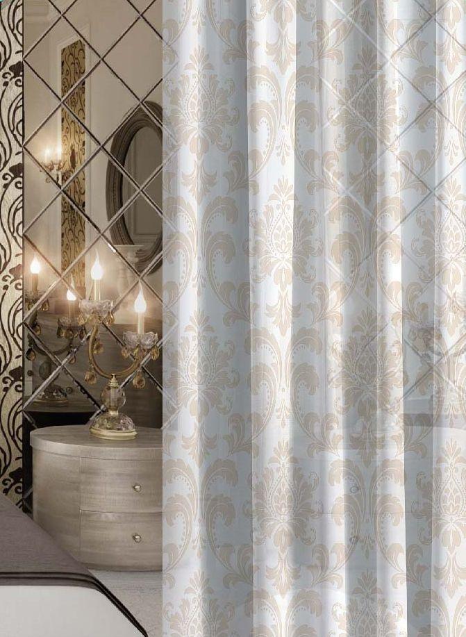 Комплект штор Волшебная ночь Princely, на ленте, высота 270 см, 2 шт705477Шторы коллекции Волшебная ночь - это готовое решение для Вашего интерьера, гарантирующее красоту, удобство и индивидуальный стиль! Шторы изготовлены из тонкой и легкой ткани ВУАЛЬ, которая почти не препятствует прохождению света, но защищает комнату от посторонних взглядов. Длина штор регулируется с помощью клеевой паутинки (в комплекте). Изделия крепятся на вшитую шторную ленту: на крючки или путем продевания на карниз. Дизайнеры Марки предлагают уже сформированные комплекты штор из различных тканей и рисунков для создания идеальной композиции на окне. Для удобства выбора дизайны штор распределены в стилевые коллекции: ЭТНО, ВЕРСАЛЬ, ЛОФТ, ПРОВАНС. В коллекции Волшебная ночь к данной шторе Вы также сможете подобрать шторы из других тканей: БЛЭКАУТ (100% затемненение), сатен и ГАБАРДИН (частичное затемнение), которые будут прекрасно сочетаться по дизайну и обеспечат особый уют Вашему дому.