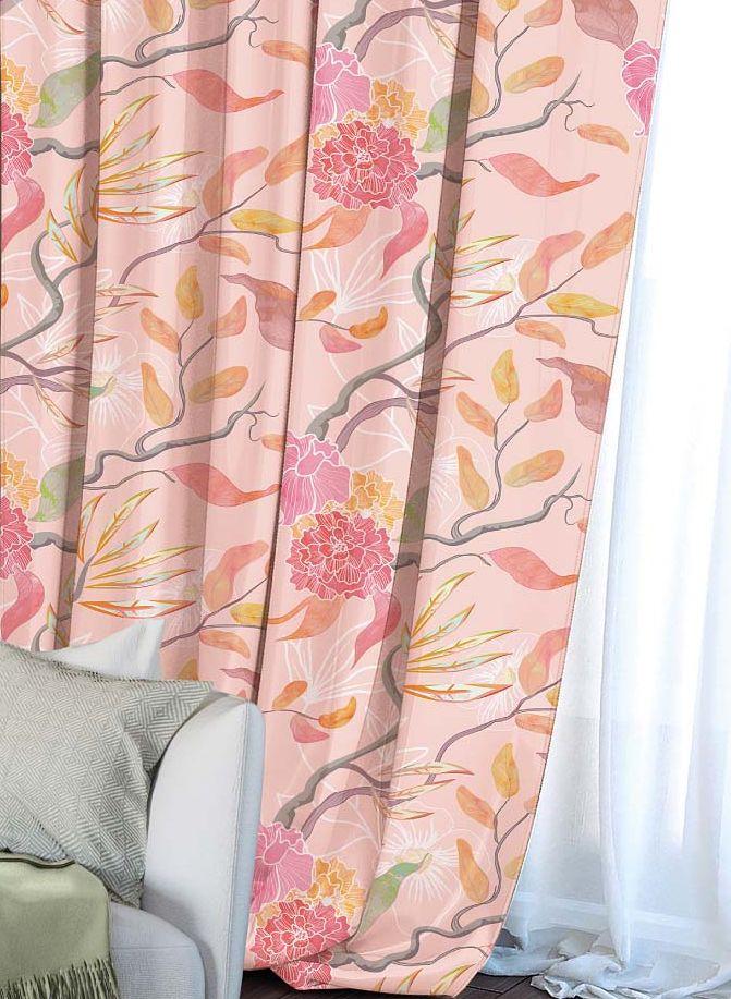 Штора Волшебная ночь Summer Fantasy, на ленте, высота 270 см704527Шторы коллекции Волшебная ночь - это готовое решение для Вашего интерьера, гарантирующее красоту, удобство и индивидуальный стиль! Штора изготовлена из приятной на ощупь ткани ГАБАРДИН, которая плотно драпирует окно, но позволяет свету частично проникать внутрь. Длина шторы регулируется с помощью клеевой паутинки (в комплекте). Изделие крепится на вшитую шторную ленту: на крючки или путем продевания на карниз. Дизайнеры Марки предлагают уже сформированные комплекты штор из различных тканей и рисунков для создания идеальной композиции на окне. Для удобства выбора дизайны штор распределены в стилевые коллекции: ЭТНО, ВЕРСАЛЬ, ЛОФТ, ПРОВАНС. В коллекции Волшебная ночь к данной шторе Вы также сможете подобрать шторы из других тканей: БЛЭКАУТ (100% затемненение), сатен (частичное затемнение) и ВУАЛЬ (практически нулевое затемнение), которые будут прекрасно сочетаться по дизайну и обеспечат особый уют Вашему дому.