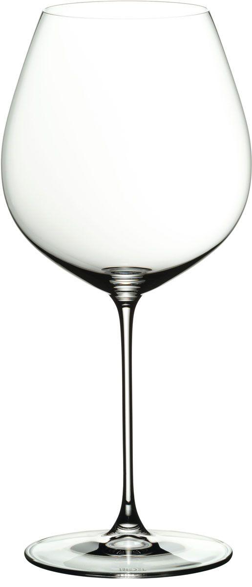 Набор фужеров для красного вина Riedel Veritas. Old World Pinot Noir, цвет: прозрачный, 705 мл, 2 шт6449/07