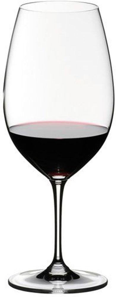 Набор фужеров для красного вина Riedel Vinum. Syrah, цвет: прозрачный, 650 мл, 2 шт6416/30