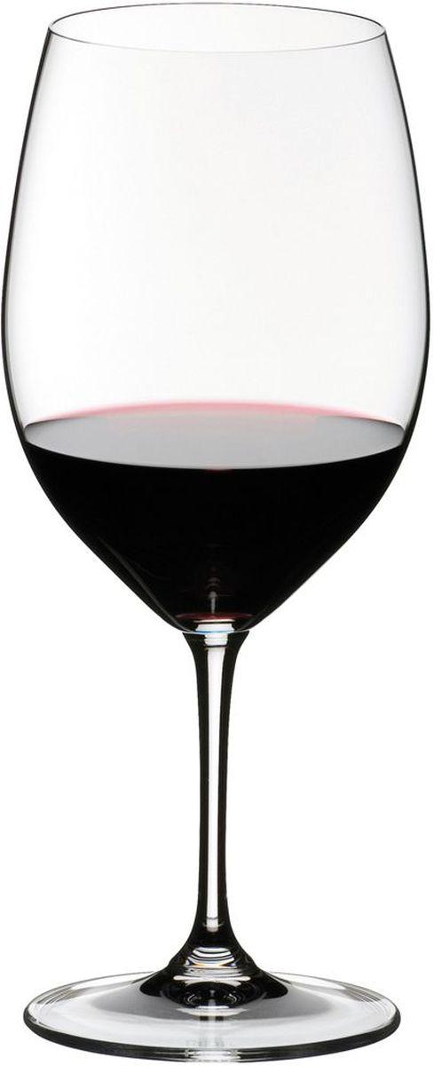 Набор фужеров для красного вина Riedel Vinum. Bordeaux, цвет: прозрачный, 610 мл, 2 шт6416/0