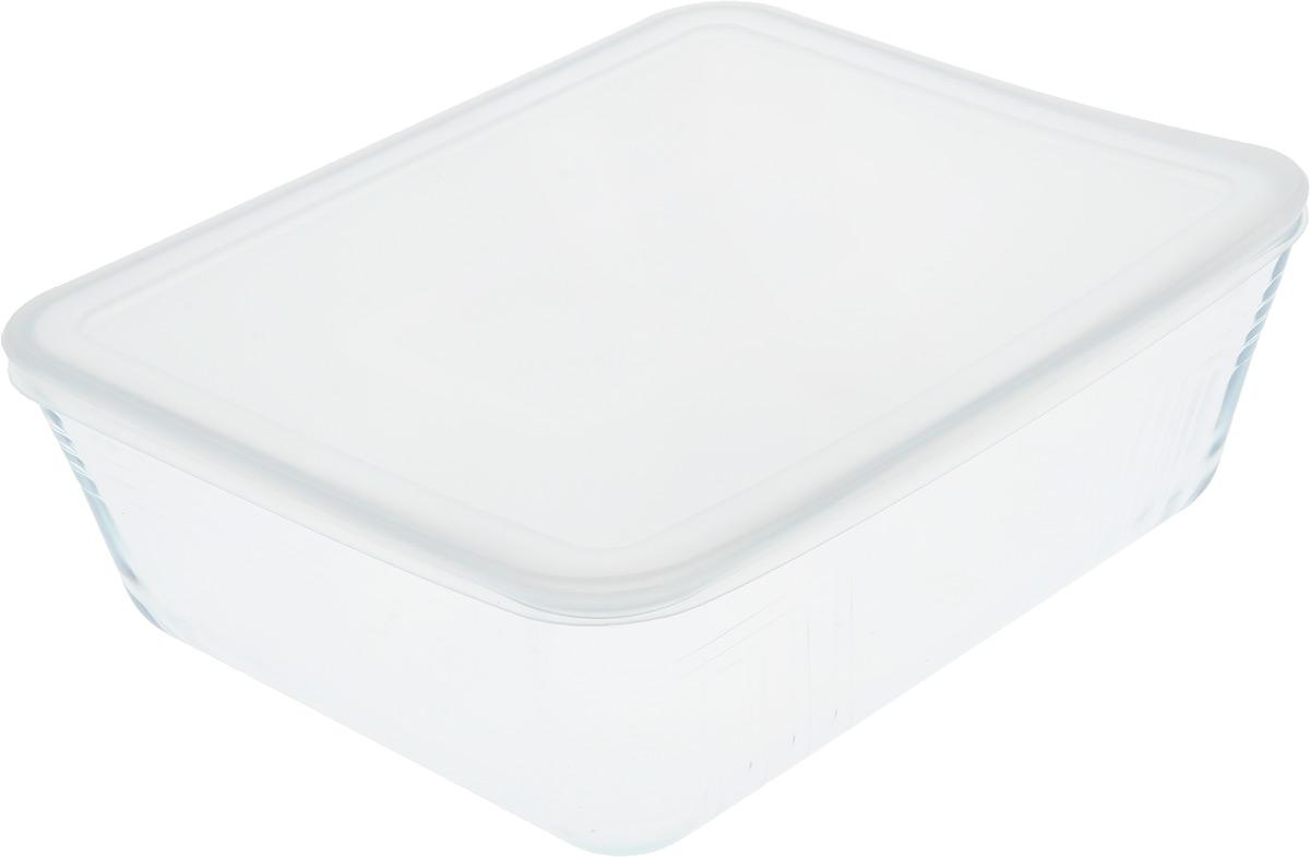 "Форма для запекания Pyrex ""Cook & Store"", с крышкой, прямоугольная, 27 х 23 х 7 см"