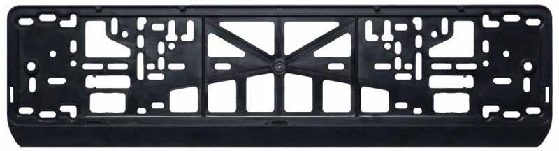 Рамка под номерной знак Airline, цвет: черныйAFC-01Рамка данной модели изготовлена из полипропилена черного цвета и имеет стандартную прямоугольную форму и российско-европейский размер. Рамка устанавливается на бампер автомобиля и крепится с помощью простого в использовании механизма. Морозостойкий материал служит гарантией долгой эксплуатации изделия. Преимущества: Морозостойкий материал; Простая установка; Российско-европейский размер; соответствует требованиям ГИБДД;