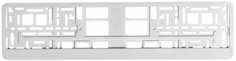 Рамка под номерной знак Airline, цвет: белый. AFC-04AFC-04Изделие представляет собой рамку белого цвета традиционной прямоугольной формы, предназначенную для фиксирования на бампере автомобиля номерного знака. Рамка устанавливается на машину за считанные секунды и прочно фиксируется благодаря механизму крепления, который прошел проверку многоуровневыми стандартами качества. Пластик, из которого изготовлено изделие, не подвержен перепадам температур и отличается высоким порогом прочности. Преимущества: Морозостойкий материал; Простая установка; Российско-европейский размер; соответствует требованиям ГИБДД;